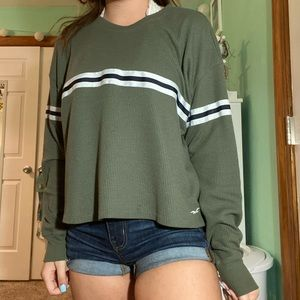 women's hollister thermal top